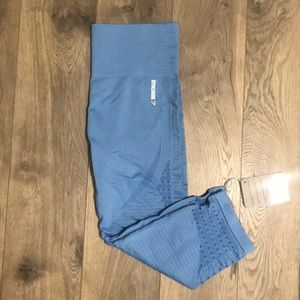 Energy Seamless Cropped Gymshark Leggings NWT
